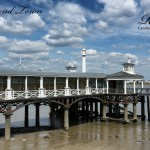Town Pier And Clouds
