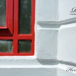 Red & White Corner