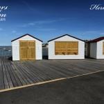 Closed Huts