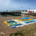 Deflated On The Beach