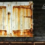 Rusty Cupboard Hatch