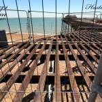 Metal Deck Behind Bars