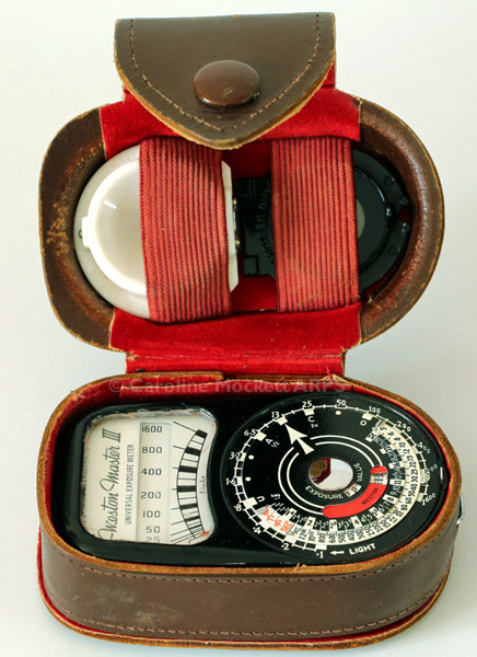 Weston Master III exposure meter