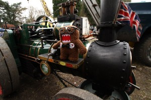 Geeky On The Traction Engine