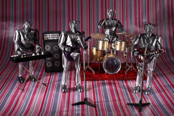 Heavy Metal band The Cybermen