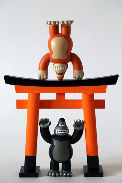 Monkey Symmetry