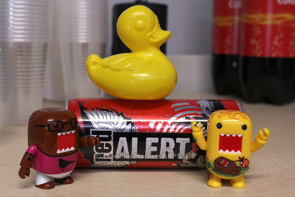 Alert! It's Mr Duck!