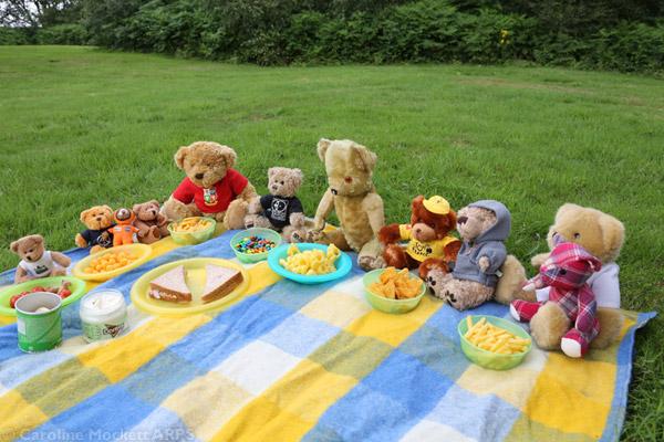 Munching Bears!