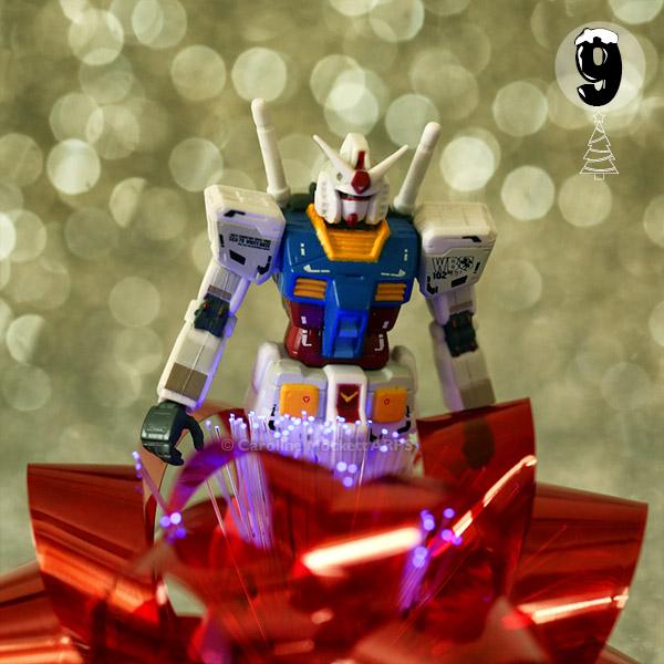 Gundam Likes Pretty Lights