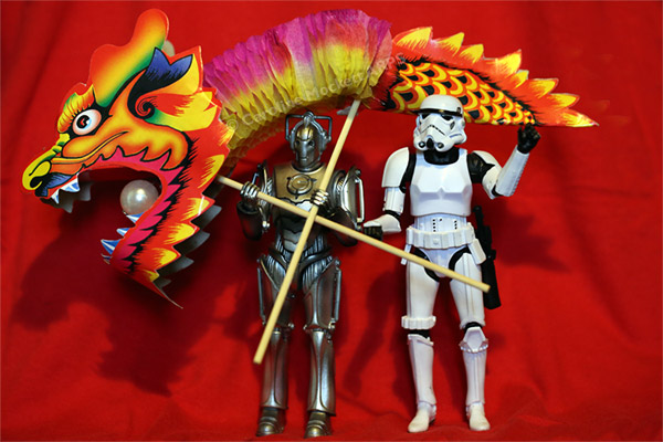 Kung Hei Fat Choi With Dragons